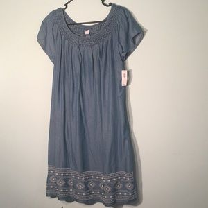 NWT old navy off (or on) the shoulder dress